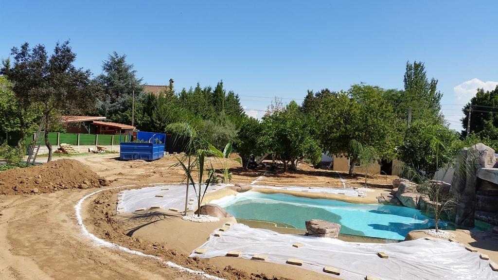 Construcción de jardín Palomares
