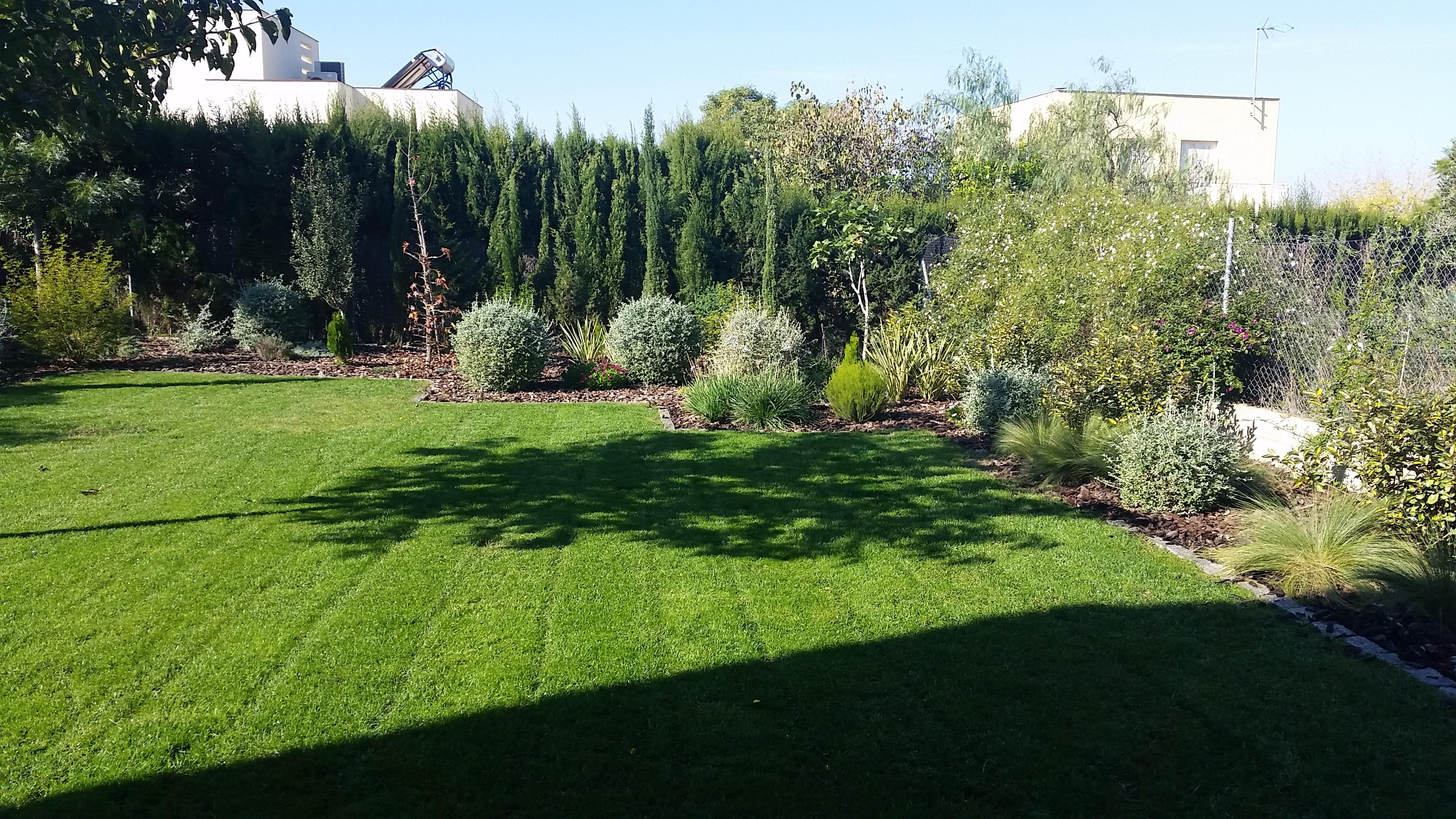 Jardín particular