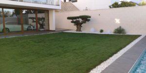 Diseño y ejecución de jardín